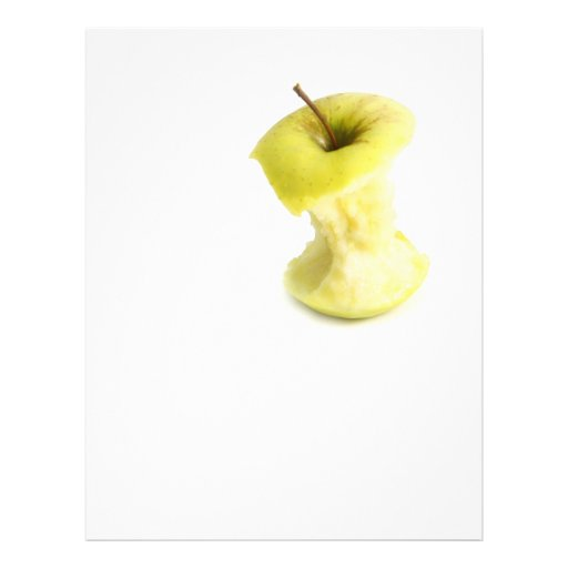 Apple core personalized flyer