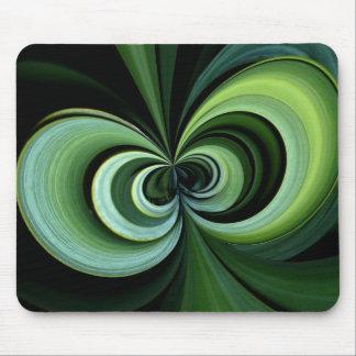 Apple core in green! mousepad