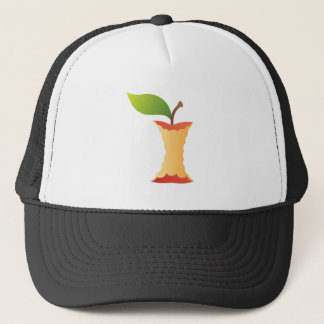 Apple core trucker hat