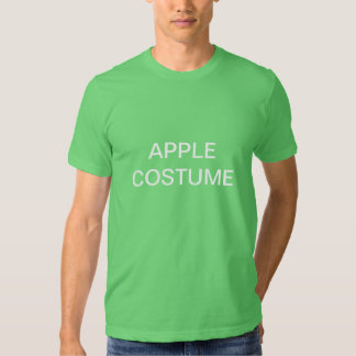 Apple Costume Tshirts