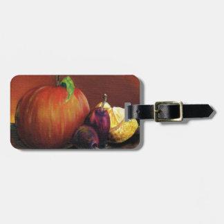 Apple, Damson and Lemon Luggage Tag
