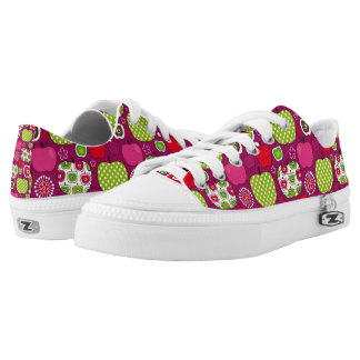 Apple Days Purple Low Tops