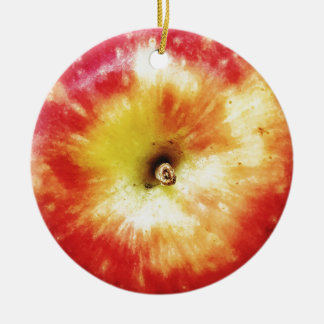 Apple Dble-sided Ornament