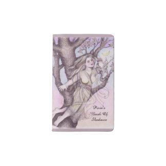 Apple Dryad Fairy Faerie Sm. Travel BOS Grimoire Pocket Moleskine Notebook