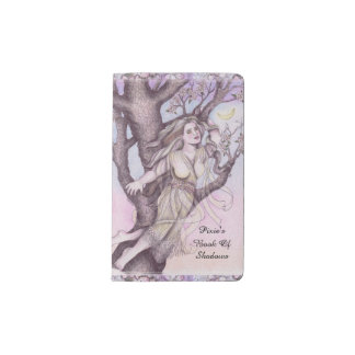 Apple Dryad Fairy Faerie Sm. Travel BOS Grimoire Pocket Moleskine Notebook