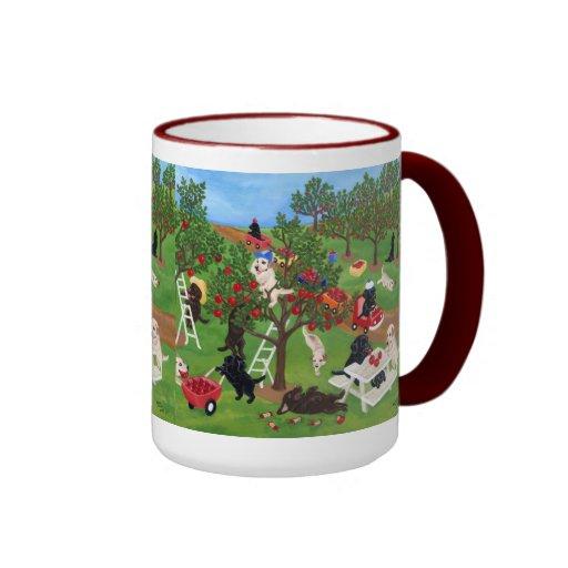 Apple Farm Labradors Coffee Mug