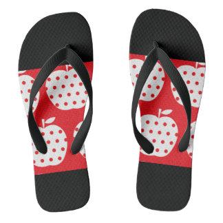 Apple Flip Flops