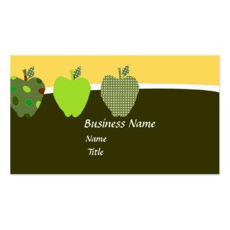 Apple for the Teacher Business Card