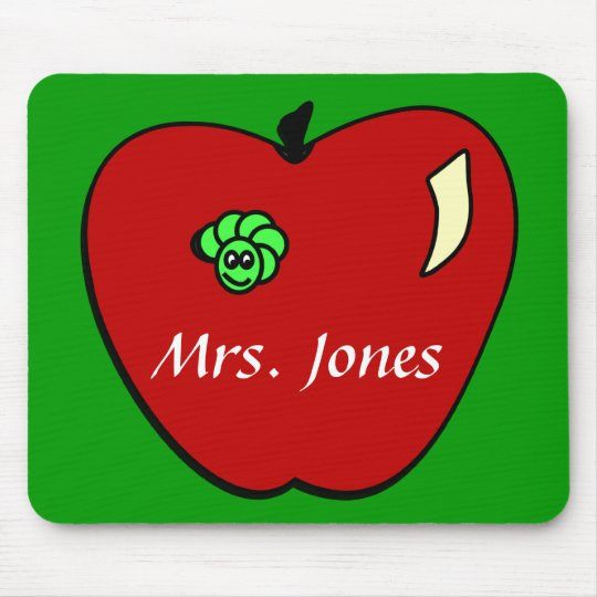 Apple for the Teacher Mousepad