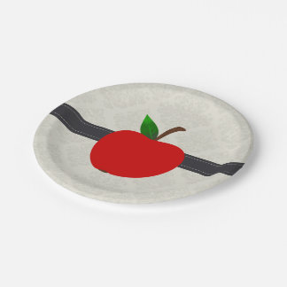 Apple Fruit 7 Inch Paper Plate
