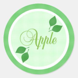 Apple Fruit Label Sticker