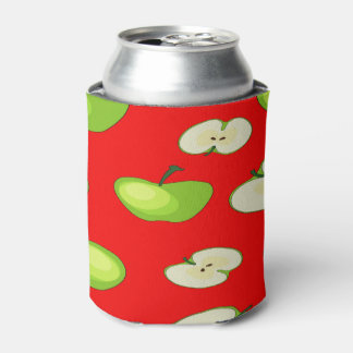 Apple fruit pattern can cooler