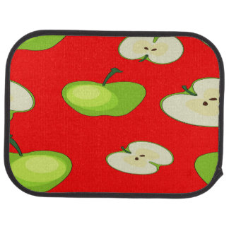 Apple fruit pattern car mat