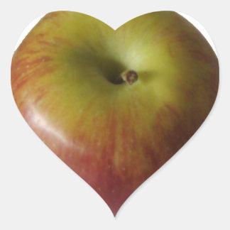 Apple - Fuji Heart Sticker