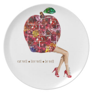 Apple Gems Plate