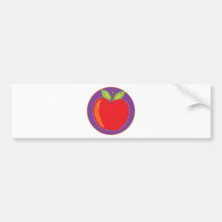 Apple Graphic Bumper Sticker