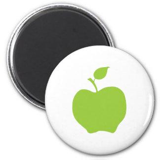 Apple Green 6 Cm Round Magnet