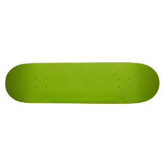 APPLE GREEN (a solid fruity color) ~ 21.3 Cm Mini Skateboard Deck
