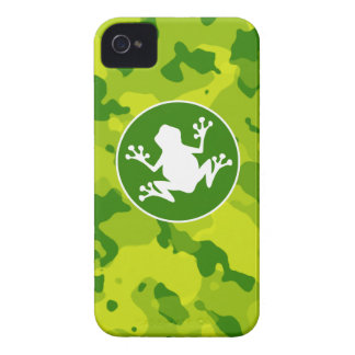 Apple Green Camo; Frog iPhone 4 Cover
