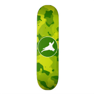 Apple Green Camo; Ninja Skateboard Decks