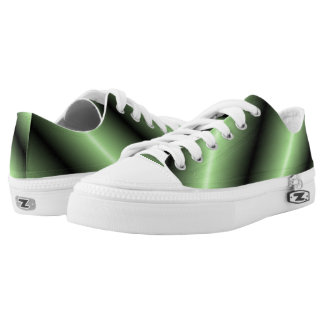 Apple Green Shine Low Tops