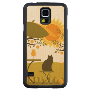 Apple Harvest Carved Maple Galaxy S5 Case