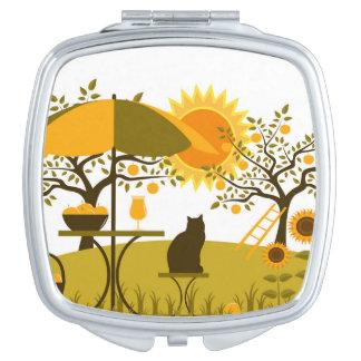 Apple Harvest Compact Mirror