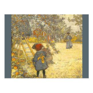 'Apple Harvest' Postcards