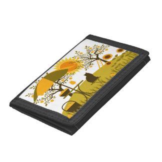 Apple Harvest Tri-fold Wallet