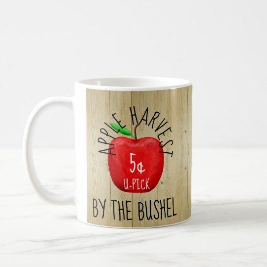 Apple Harvest Vintage Sign Coffee Mug