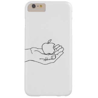 Apple in hand barely there iPhone 6 plus case