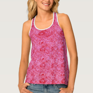 Apple in Your Paisley Eyes by MJ Tank Top