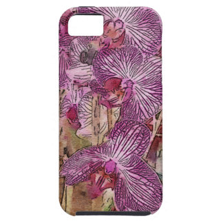 Apple iPhone 5/5S Case - Watercolor Orchids