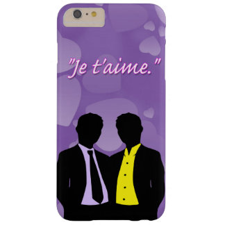 Apple iPhone 6 Plus Je t'aime. Barely There iPhone 6 Plus Case