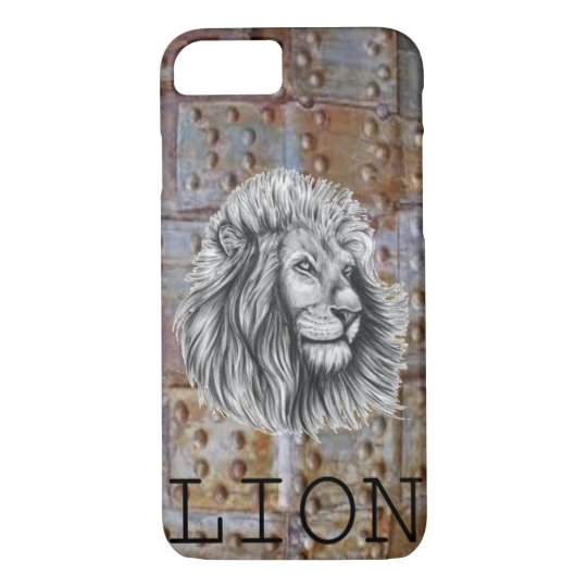 Apple iPhone 7, Barely There LION case