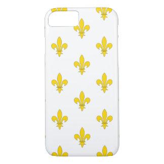 Apple iPhone 7 case with fleur de lis pattern