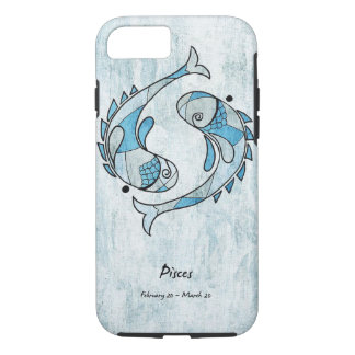 Apple iPhone 7, Tough Phone Case/Pisces iPhone 8/7 Case