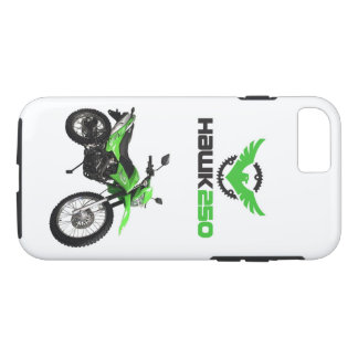 Apple iPhone 7, Tough Phone Hawk 250 Green Case