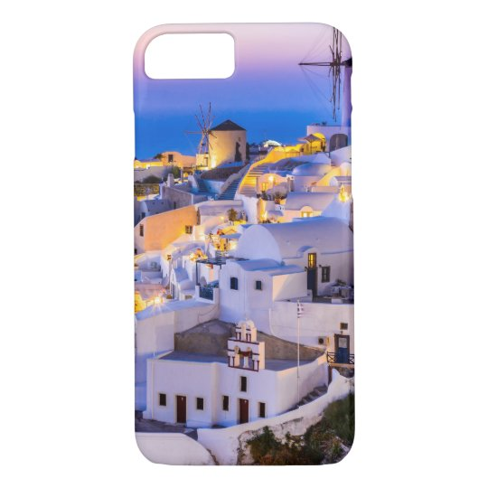 Apple iPhone 8/7, Barely Phone Case Oia Santorini
