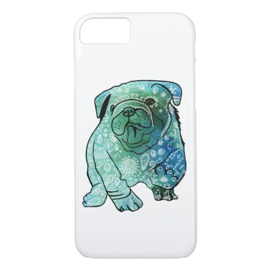 Apple iPhone 8/7, Barely There, Dog French Bulldog