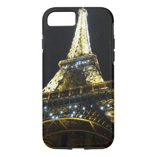 Apple iPhone 8/7, Tough Phone Case Eiffel Tower