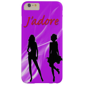 Apple iPhone J'adore Barely There iPhone 6 Plus Case