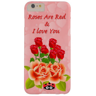 Apple iPhone  Roses Barely There iPhone 6 Plus Case