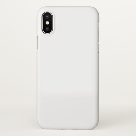 Custom iPhone X Glossy Case