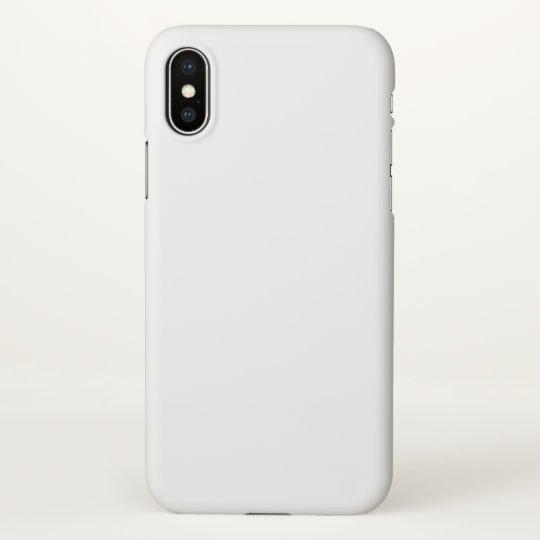Custom iPhone X Matte Case
