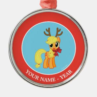 Apple Jack Reindeer Christmas Ornament