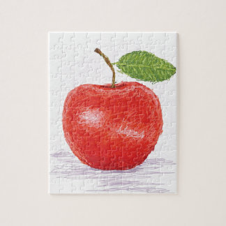 apple jigsaw puzzle