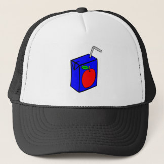 Apple Juice Box Trucker Hat