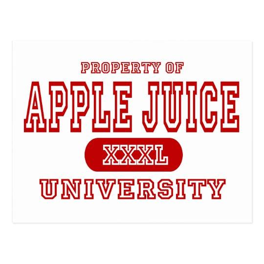 Apple Juice University Postcard