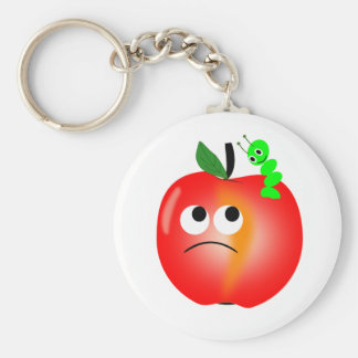 Apple Key Ring